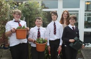 Gardening gang